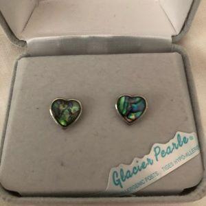 Beautiful Heart Stud Earrings